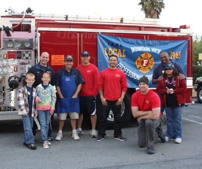 Firefighters at 31cent scoop night