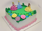Garden Royalty Princess Cake